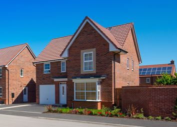 "Thumbnail 4 bed detached house for sale in ""Halstead"" at Ripon Road, Kirby Hill, Boroughbridge, York"