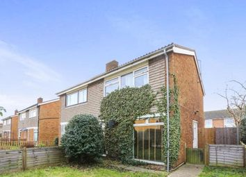 Thumbnail 3 bed semi-detached house for sale in Glebe Road, Sandy, Bedfordshire