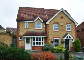 Thumbnail 2 bedroom semi-detached house to rent in Little Grove Avenue, Cheshunt, Waltham Cross