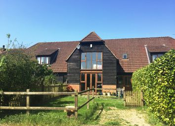 Thumbnail 3 bed barn conversion for sale in Oare, Hermitage, Thatcham