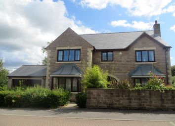 Thumbnail 5 bedroom detached house for sale in Greenacre Gate, Lepton, Huddersfield
