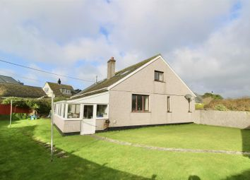 Thumbnail 3 bed detached bungalow for sale in Polurrian Road, Mullion, Helston