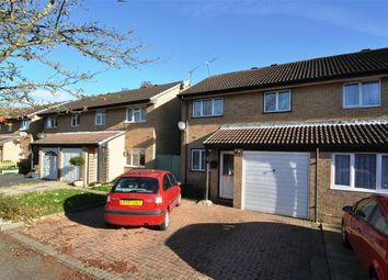 Thumbnail 3 bedroom semi-detached house for sale in Poppyfields, Welwyn Garden City, Hertfordshire