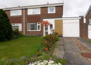 Thumbnail 3 bedroom semi-detached house for sale in Kenmoor Way, Chapel Park, Newcastle Upon Tyne