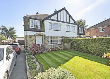 Thumbnail 3 bed semi-detached house for sale in Tredgold Garth, Bramhope, Leeds