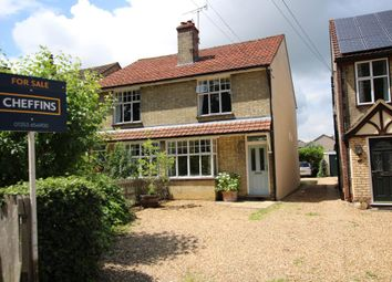 Thumbnail 3 bed semi-detached house for sale in Barton Road, Ely