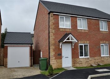 Thumbnail 3 bed semi-detached house for sale in Gibson Close, Haltwhistle, Northumberland.
