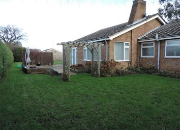 Thumbnail 3 bed detached bungalow to rent in West Road, Bourne, Lincolnshire