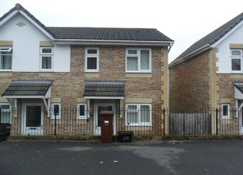 Thumbnail 2 bed semi-detached house for sale in Brynmorgrug, Pontardawe, Swansea.