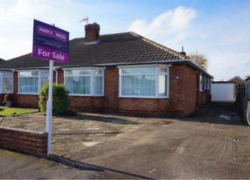 Thumbnail 3 bed semi-detached bungalow for sale in Holton Mount, Holton Le Clay, Grimsby