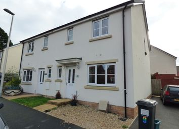 Thumbnail 3 bedroom semi-detached house to rent in Poppy Close, Newton Abbot