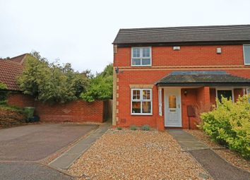 Thumbnail 2 bedroom end terrace house for sale in Long Ayres, Caldecotte, Milton Keynes
