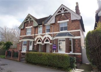 Thumbnail 3 bed semi-detached house for sale in Emscote Road, Warwick