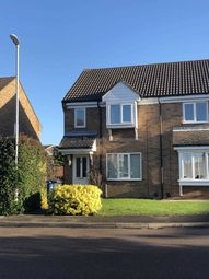 Thumbnail 3 bedroom semi-detached house to rent in William Drive, Eynesbury, St. Neots
