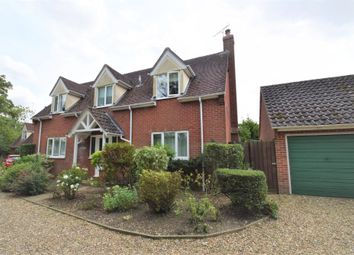 Thumbnail 4 bed detached house for sale in Bury Road, Chedburgh, Bury St Edmunds