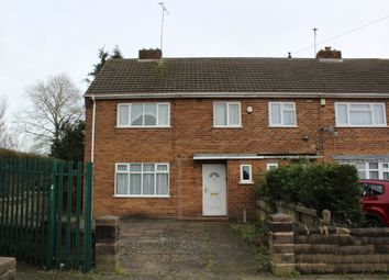 Thumbnail 3 bed end terrace house for sale in Stella Road, Tipton