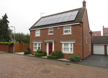 Thumbnail 4 bed detached house for sale in Flowerhill Drive, Wellingborough