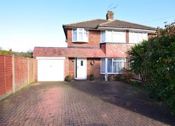Thumbnail 3 bedroom semi-detached house for sale in Prinsted Crescent, Farlington, Portsmouth, Hampshire
