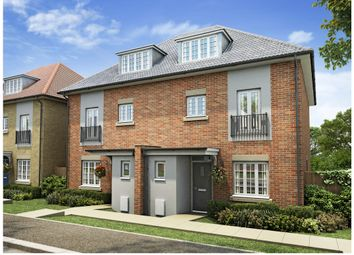 Thumbnail 4 bed town house for sale in Plot 20, Russell Gardens, London Road, Downham Market, Norfolk.