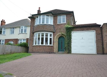 Thumbnail 3 bed detached house for sale in Leicester Road, Quorn, Leicestershire
