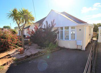 Thumbnail 2 bed semi-detached bungalow for sale in Barton Avenue, Paignton