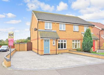 Thumbnail 3 bed semi-detached house for sale in William Rigby Drive, Minster On Sea, Sheerness, Kent