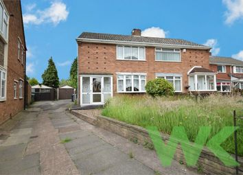 Thumbnail 3 bed detached house for sale in Coronation Road, Wednesbury, West Midlands