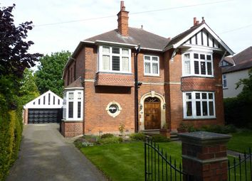 Thumbnail 4 bed detached house for sale in Park Drive, Grimsby
