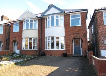 Thumbnail 3 bed semi-detached house for sale in Nelson Road, Ipswich