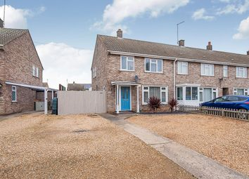 Thumbnail 3 bed end terrace house for sale in Chestnut Crescent, Whittlesey, Peterborough