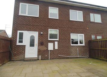 Thumbnail 3 bedroom semi-detached house to rent in Oakerside Drive, Peterlee
