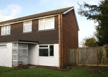 Thumbnail 3 bed end terrace house for sale in Sherbourne Drive, Woodley, Reading, Berkshire