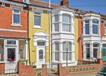Thumbnail 3 bed terraced house for sale in Wykeham Road, Portsmouth, Hampshire