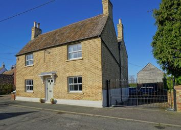 Thumbnail 4 bed detached house for sale in High Street, Hail Weston, St. Neots