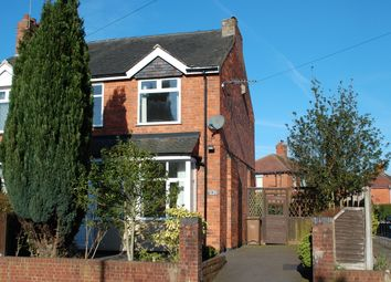 Thumbnail 2 bed semi-detached house for sale in Wilson Road, Hanford, Stoke-On-Trent