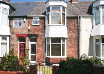 Thumbnail 3 bed terraced house for sale in Croft Avenue, Sunderland