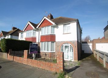 Thumbnail 3 bed semi-detached house for sale in Roman Road, Hove, Brighton, East Sussex