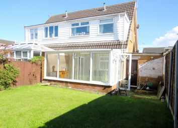 Thumbnail 3 bed semi-detached house for sale in Rake Hey Close, Moreton, Wirral