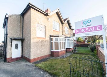 Thumbnail 3 bed semi-detached house for sale in Wooler Road, Hartlepool
