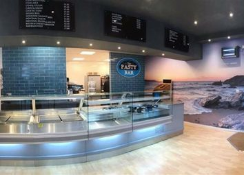 Thumbnail Restaurant/cafe for sale in The Pasty Bar, 5, Fore Street, Newquay, Cornwall