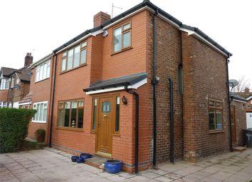 Thumbnail 3 bed semi-detached house to rent in Myddleton Lane, Winwick, Warrington