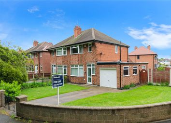 Thumbnail 3 bed semi-detached house for sale in Elm Avenue, Newark