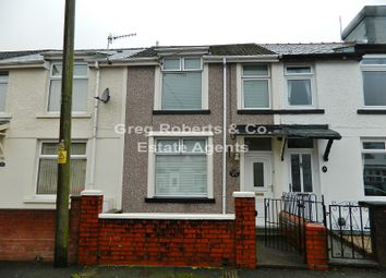 Thumbnail 2 bed terraced house for sale in Park View, Tredegar, Blaenau Gwent.