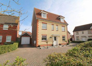 Thumbnail 6 bed detached house for sale in Hazel Close, Thorrington, Colchester, Essex