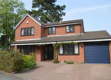 Thumbnail 4 bed detached house for sale in Wissage Road, Lichfield