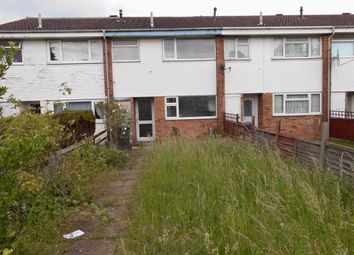 Thumbnail 3 bed terraced house for sale in Woodgreen Walk, Leicester