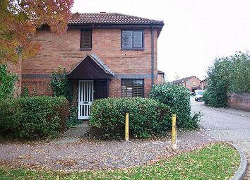 Thumbnail 1 bed semi-detached house for sale in Belvoir Avenue, Emerson Valley, Milton Keynes