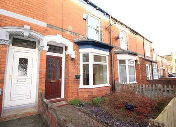 Thumbnail 1 bed terraced house for sale in Brougham Street, Hull
