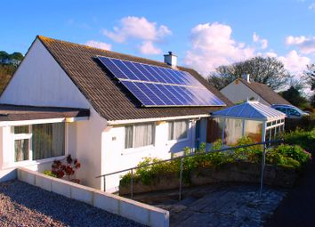 Thumbnail 4 bed semi-detached bungalow for sale in Garth Road, Newlyn, Penzance