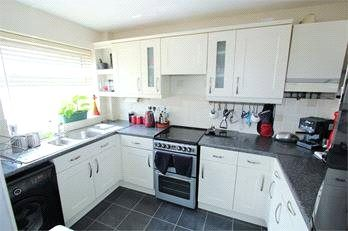Thumbnail 2 bed maisonette to rent in Queens Road, Egham, Surrey